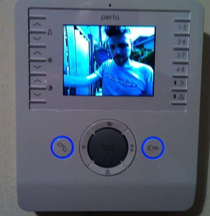 videocitofono Bpt perla